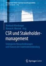 Verantwortung für Stakeholdereinbindung