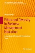 A Qualitative Study of Business Ethics: A Sociologist Walks into a Business School