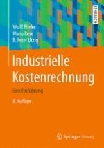Einführung in die industrielle Kosten- und Leistungsrechnung