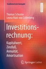 Einführung in die Investitionstheorie