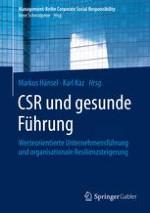 Corporate Social Responsibility und gesunde Führung – Hinführung und Überblick über das Buch