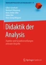 Ziele der Analysis, Aspekte und Grundvorstellungen