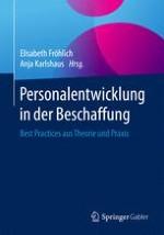 Status quo: Personalentwicklung in der Beschaffung – Ergebnisse einer empirischen Studie