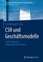 CSR und Geschäftsmodelle: Auf dem Weg zum zeitgemäßen Wirtschaften.