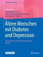 Typ-2-Diabetes mellitus und Depression bei älteren Menschen