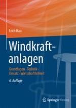Windmühlen und Windräder