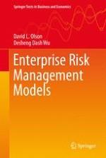 Enterprise Risk Management in Supply Chains