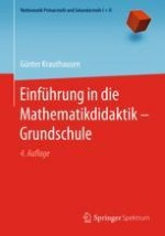 Zum Mathematikunterricht in der Grundschule
