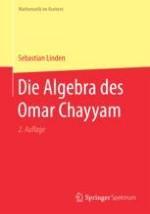 Überblick über Omar Chayyam und seine algebraische Arbeit