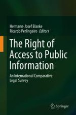 Essentials of the Right of Access to Public Information: An Introduction