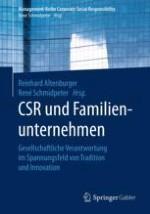 Die gesellschaftliche Verantwortung von Familienunternehmen