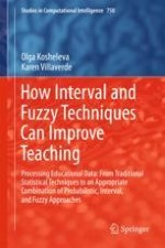 Introduction: Need for Interval and Fuzzy Techniques in Math and Science Education