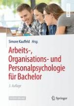 Einführung in die Arbeits-, Organisations- und Personalpsychologie