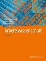 Arbeitswissenschaft im Umriss: Disziplinen- und Konzeptstruktur