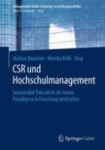 Corporate Social Responsibility und Hochschulmanagement: Einführung in die Thematik und Beschreibung des Buchaufbaus