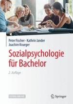 Definitorische, wissenschaftstheoretische und methodische Grundlagen der Sozialpsychologie