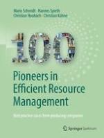 Resource efficiency in industrial society