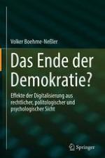 Digitalisierung – Das Ende der Demokratie?