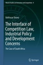 Interface of Industrial Policy and Competition Law in South Africa ...