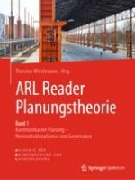 Einleitung – Zum Stand der deutschsprachigen Planungstheorie