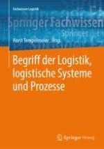 Begriffliche Grundlagen der Logistik