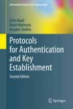 Introduction to Authentication and Key Establishment