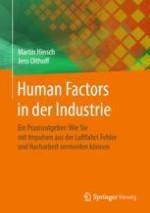 Anforderungen an die Industrie der Zukunft