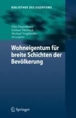 Verbreitung von Wohneigentum in Deutschland