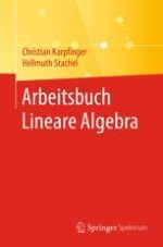 Arbeitsbuch Lineare Algebra Springerprofessional De