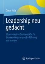 Schlüsselelemente eines wachstumsorientierten Leaderships
