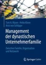 """Einleitung: Dynastische Unternehmerfamilien und das Forschungsprojekt zum """"Big Family Management"""""""