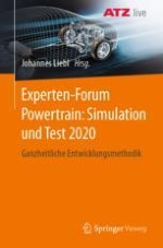 System simulation and visualization of powertrain and mobility concepts