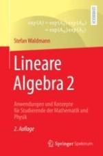 Lineare Differentialgleichungen und die Exponentialabbildung