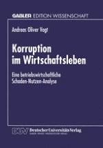 Korruption — ein informelles Phänomen in Politik und Ökonomie