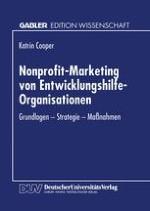 Merkmale des erweiterten Marketing-Begriffs und der Nonprofit-Organisationen