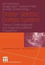 Theorie, Funktionswandel und zivilgesellschaftliche Perspektiven des Dritten Sektors/Dritten Systems — eine Einleitung