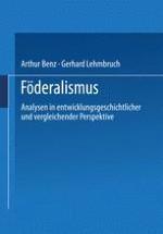 Themen, Probleme und Perspektiven der vergleichenden Föderalismusforschung