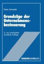 Unternehmensbesteuerung als ökonomische Analyse des Steuerrechts