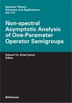 Elementary theory of one-parameter semigroups