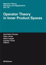 Linear Operators in Almost Krein Spaces