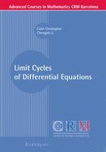Centers and Limit Cycles