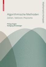 Grundbegriffe und Grundfragen einer algorithmischen Mathematik