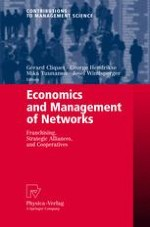 Introducing 'Economics and Management of Networks'