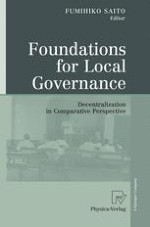Decentralization and Local Governance: Introduction and Overview