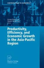 Introduction Productivity, Efficiency, and Economic Growth in the Asia-Pacific Region