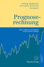 Prognoserechnung – Einführung und Überblick