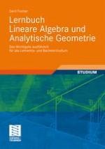 Lineare Geometrie im n-dimensionalen reellen Raum