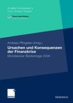 Geldpolitik in Zeiten der Finanzkrise