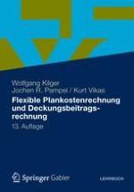 Einführung: Grenzplankostenrechnung als Controlling-Instrument