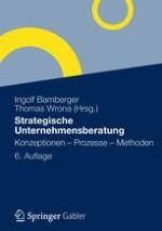 Konzeptionen der strategischen Unternehmensberatung